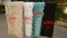 ( 150 * 100 cm ) Faux couverture de fourrure panier Stuffer mongolie fourrure accessoires de photographie de nouveau-nés accessoires de photographie