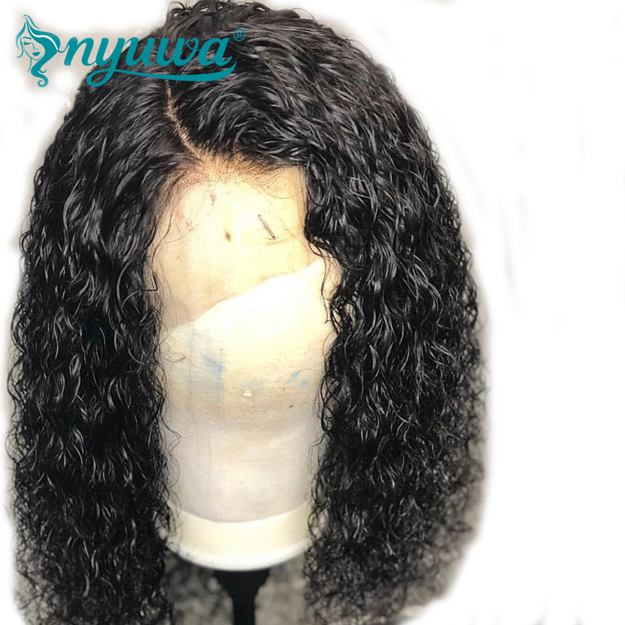 Nyuwa 13x6 Lace Front Human Hair Wigs For Woman Bleached