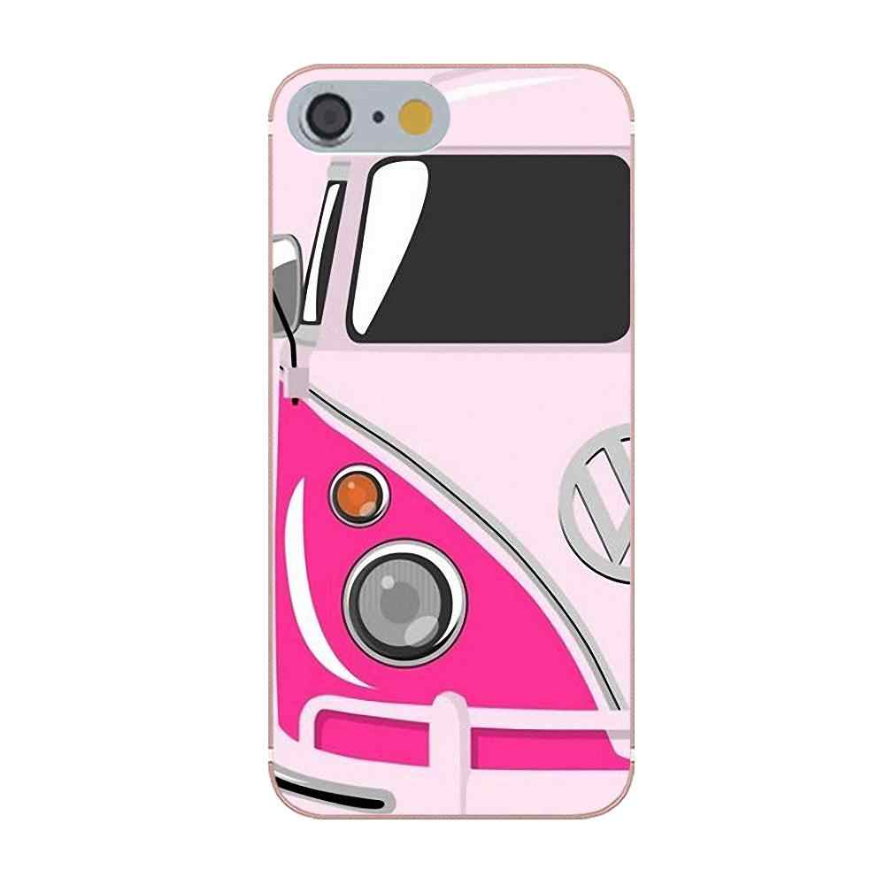 Tpwxnx Painted Funny Vw Volkswagen Bus For HTC Desire 530 626 628 630 816  820 One A9 M7 M8 M9 M10 E9 Plus U11 For Moto G G2 G3