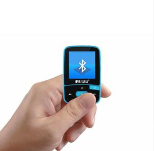 Image 2 - Ruizu x50 스포츠 블루투스 mp3 플레이어 8 기가 바이트 클립 미니 화면 지원 fm, 녹음, 전자 책, 시계, 보수계 vfzsss29bp