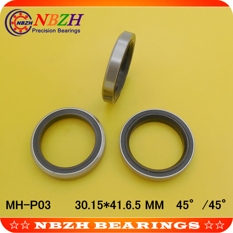 1-1/8 28.575mm bicycle headset bearing MH-P03 ACB345 ( 30.15x41x6.5mm, 45/45) hybrid ceramic bearing ABEC-5 junior republic черное поло из хлопка