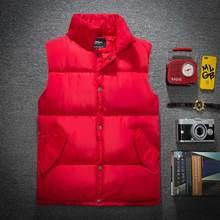 Brieuces plus size 5XL 2018 new Men women down cotton vest autumn and winter men loose stand collar lovers