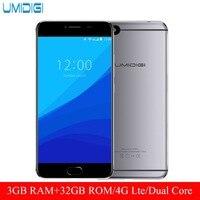 Original Umidigi C Note Android 7 0 Unlocked Smartphone 3G RAM 32G ROM 3800mAh Quad Core