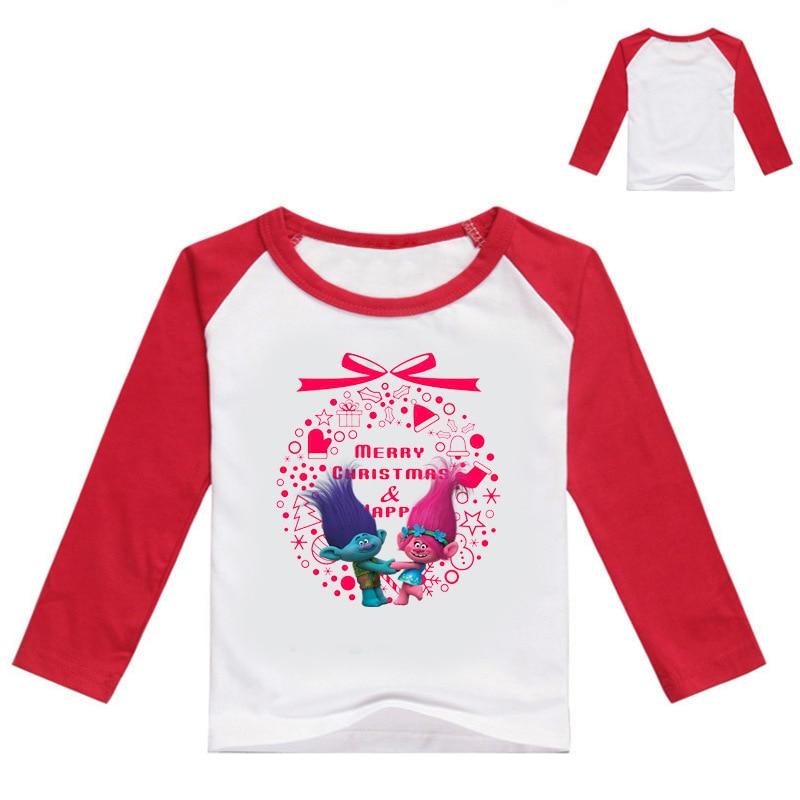 Z&Y 3 16Years Girls Trolls Funny Christmas Tshirt Kids T Shirt Boys ...