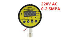 HC Y810 Controller electric contact 0 2.5MPA digital 220VAC intelligent digital pressure gauge