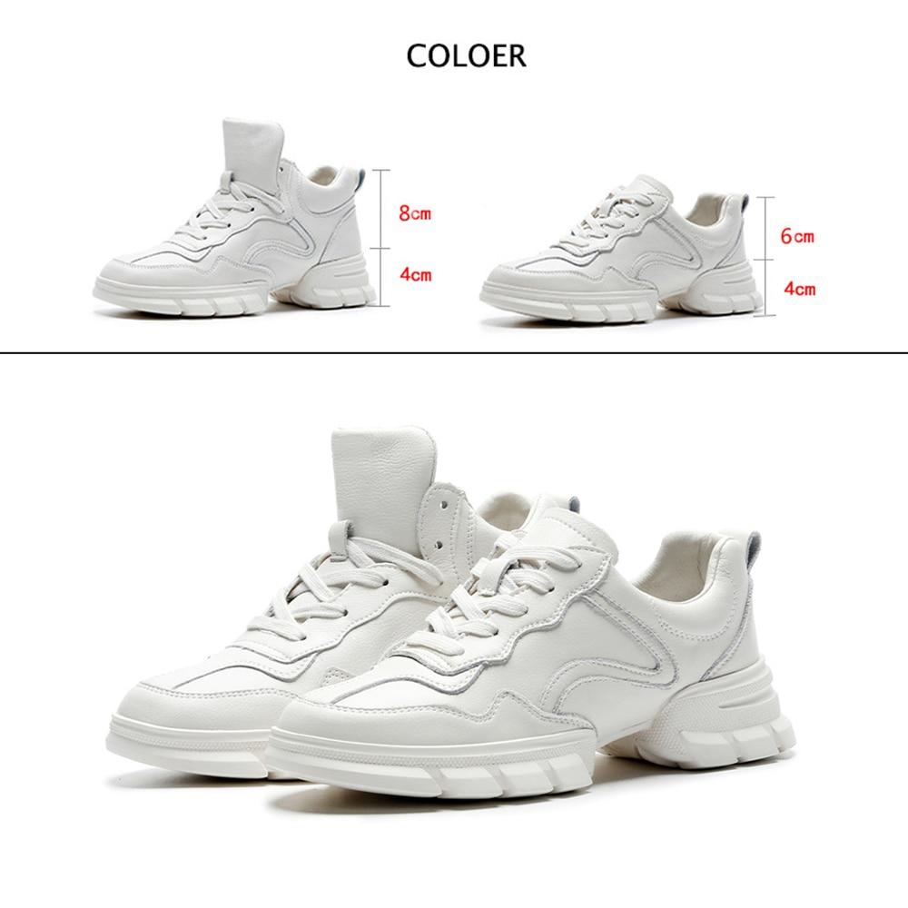 Plate Véritable White forme Sport Femmes Muyisexi Cuir white En Baskets Chaussures Am07 Lacent Naturel Blanc Mocassins Plat npAqw8XZ