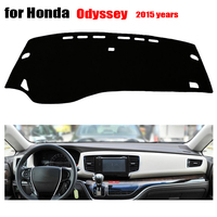 RKAC Custom fit car dashboard covers For Honda New ODYSSEY 2015 left hand drive dash covers dash mat Auto dashboard accessories