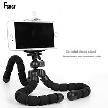 FGHGF Mobile Phone Stand Car Phone Holder Flexible octopus Tripod Bracket Digital Camera Mini Portable Flexible Desktop Stent(China)