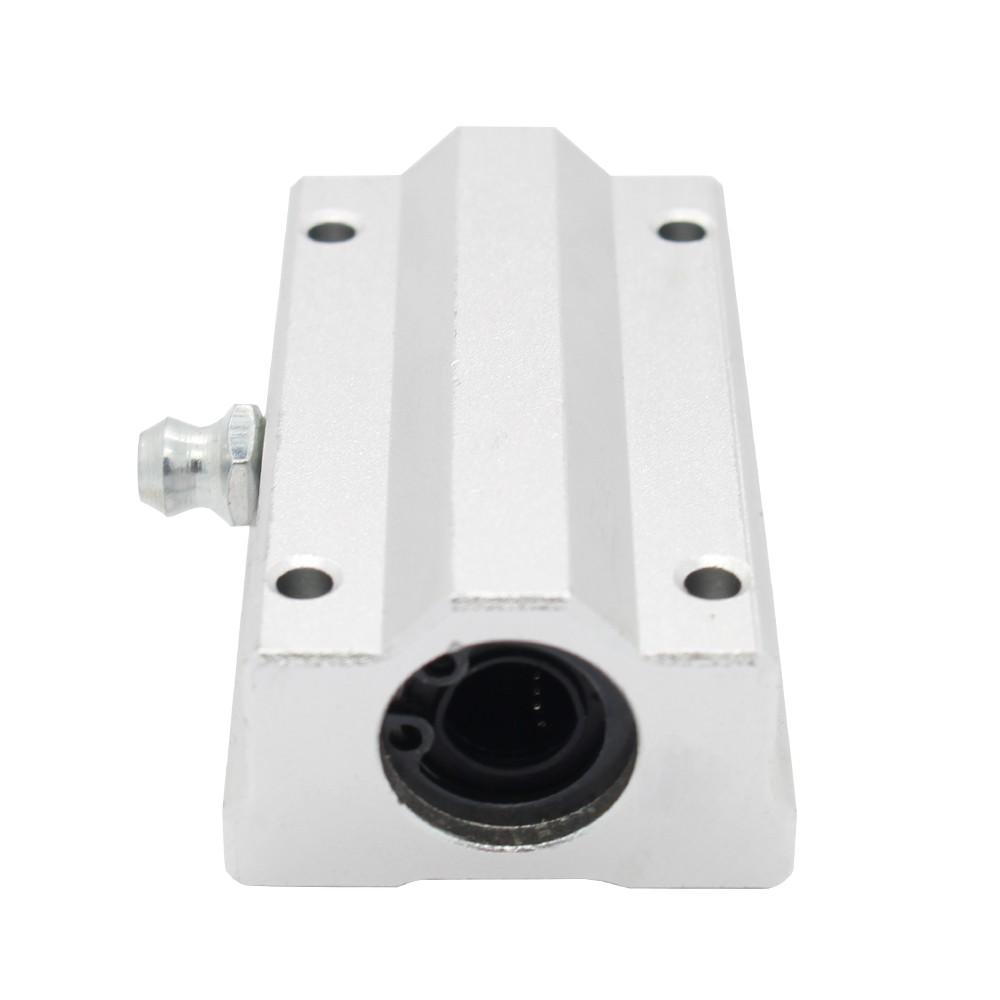 SC10LUU 10mm Linear axis Lengthen Bearing pillow Bolck Linear unit for CNC 3d printer (5)