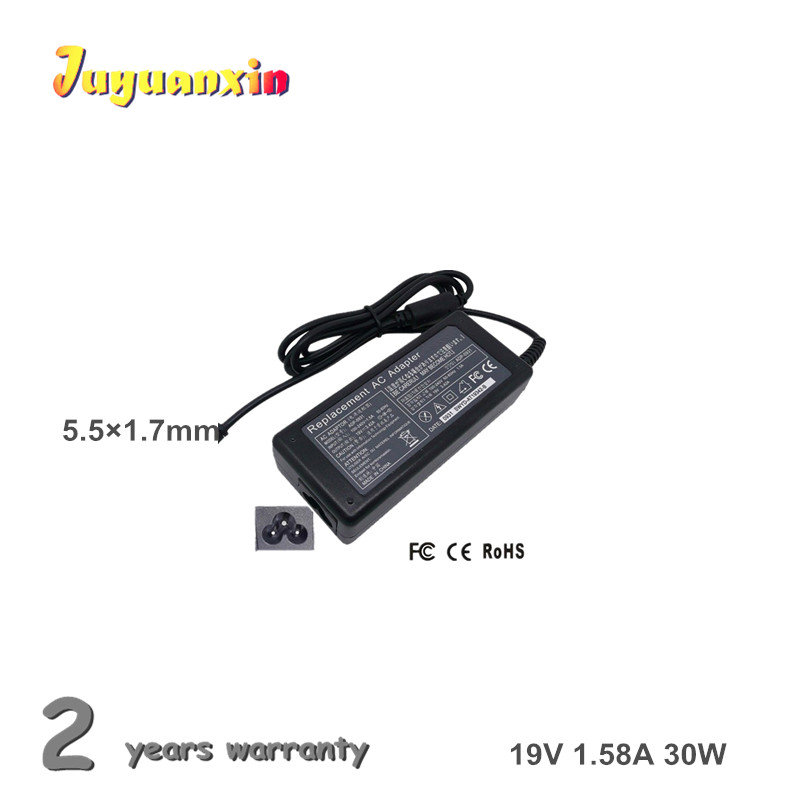19V 1.58A 30W 5.5X1.7mm Laptop Power Supply Notebook AC