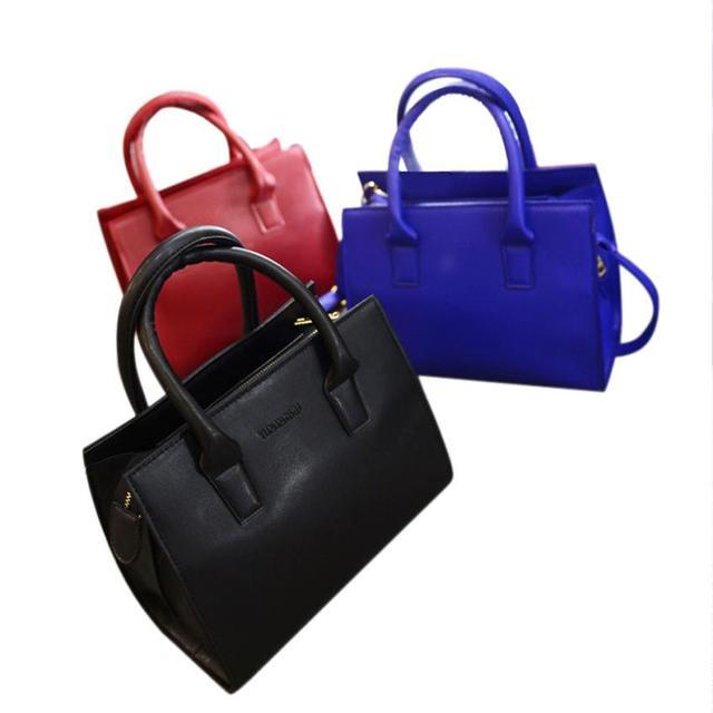 Naivety 2016 New Women Handbag PU Leather Hobo Shoulder Tote Bags JUN30 drop shipping
