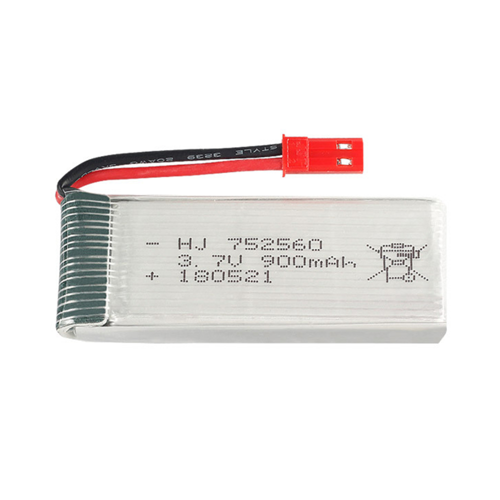 3.7V 900mAh High Capacity lipo Battery for 8807W A6 A6W M68 Rc Quadcopter Spare Parts Accessories Rc Drone 3.7 v battery <font><b>752560</b></font> image