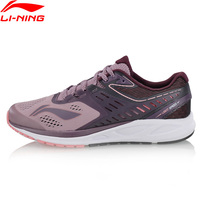 Li Ning Women's FLASH Running Shoes Anti Slippery Breathable LiNing Comfort Cushion Sneakers Wearable Sport Shoe ARHN022 XYP676