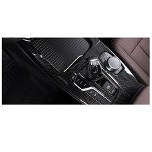 Lsrtw2017 Carbon Fiber Abs Car Gear Panel Trim Frame for Bmw X3 2018 2019 2020