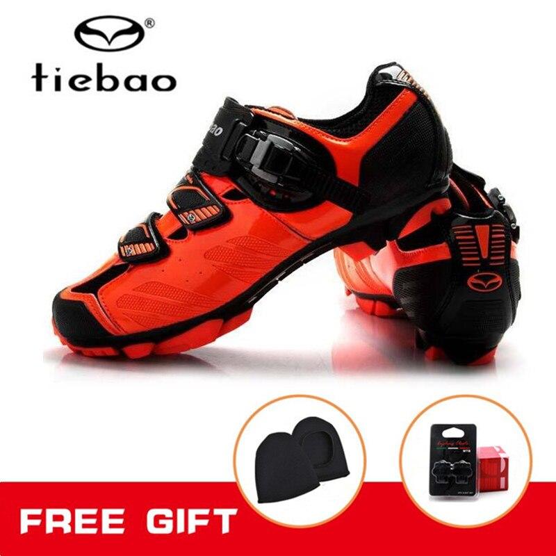 Tiebao Cycling sneakers women Breathable Sports Cycling Shoes Mens Mountain bike shoes MTB Self-Locking Athletic Bicycle Shoes tiebao cycling shoes for women