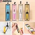 Remax Portátil Chaveiro Iluminação 8pin Carregador USB Cabo de Transferência de Dados do Anel Chave cabo Para o iphone 6 6 s Plus 5 5S SE iPad iOS 68mm
