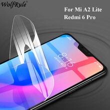 цена на Soft Full Cover Screen Protector For Xiaomi Mi A2 Lite TPU Nano Film For Xiaomi Mi A2 Lite Protective Film For Xiaomi Mi A2 Lite