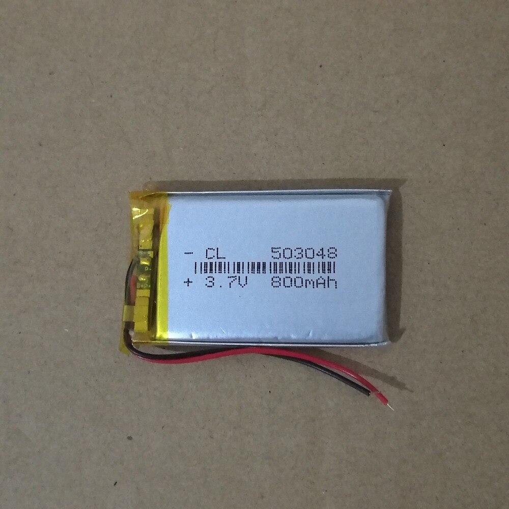 WunderschöNen Dinto 1 Stück 503048 3,7 V 650 Mah Wiederaufladbare Lithium-polymer-akku Li-po Batterien Zellen Für Gps Mp3 Mp4 Dvr Bluetooth Batterien