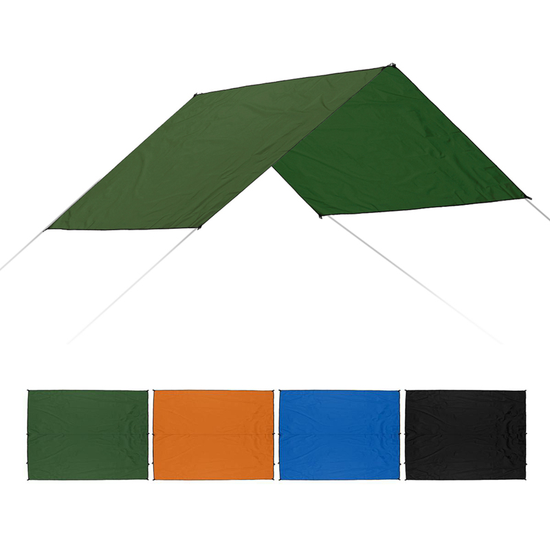 Beach Sun Shelter Tarp Waterproof Tent Shade Ultralight UV Garden Awning Canopy Sunshade Outdoor Camping Hammock Rain Tent