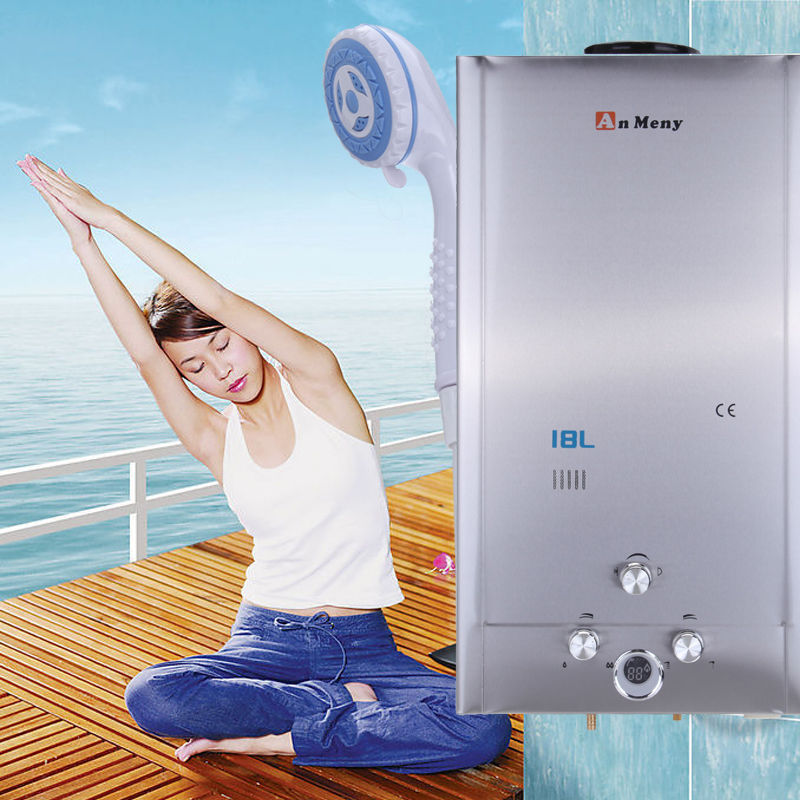 18L Home Water Heaters/ Boilers Liquefied Petroleum Gas Propane Tankless Instant