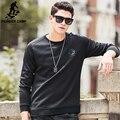 Pioneer Camp 2017 новый черный толстовки мужчин бренд clothing высочайшее качество мужская мода повседневная твердые прохладный мягкий толстовки 699064