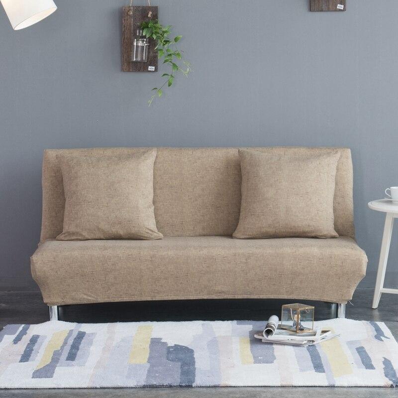 Elastic Stretch Sofa Cover No Armrest All Inclusive Slip