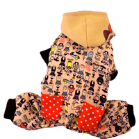 Rêver Du Temps Chiot Chien Jumpsuit Vêtements Pour Animaux Chiot Petits Animaux Chihuahua Yorkshire Dachsund Hiver Chaud Pas Cher Chats Vêtements