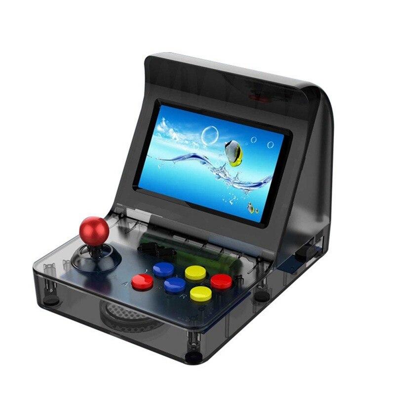Novo Mini Retro Handheld Game Console 3000 Clássicos Jogos de Vídeo PSP Console Portátil para NEOGEO Aracade FC Cartão do TF da Sustentação