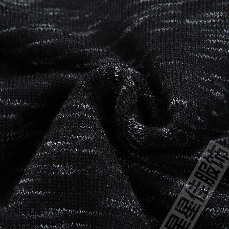 8XL 6XL 5XL 4X зимний свитер с воротником Хенли мужской кашемировый пуловер, Рождественский свитер мужские трикотажные свитера Pull Homme свитера цвета Омбре - 5