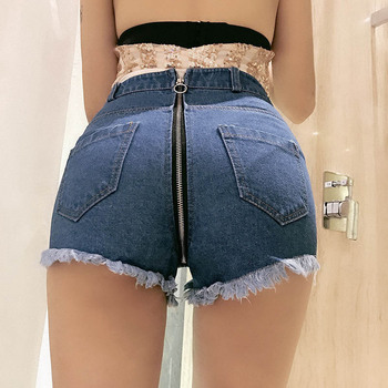 NiceMix Summer Sexy  Women Destroye Denim Jean Shorts 2018 New Feminino Womens Vintage Tassel Ripped Loose High Waist