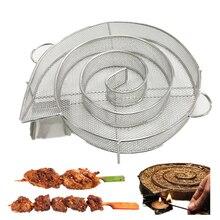 Холодной генератор дыма для барбекю гриль лосось бекон мясо рыба сжечь курильщик инструменты Пособия по кулинарии барбекю из нержавеющей стали Tools1