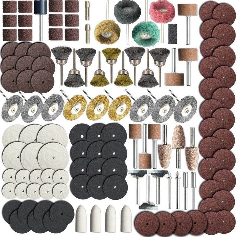 337pcs/Set Rotary Tool Accessory Bits Set For  Grinding Hobby Drill Tool