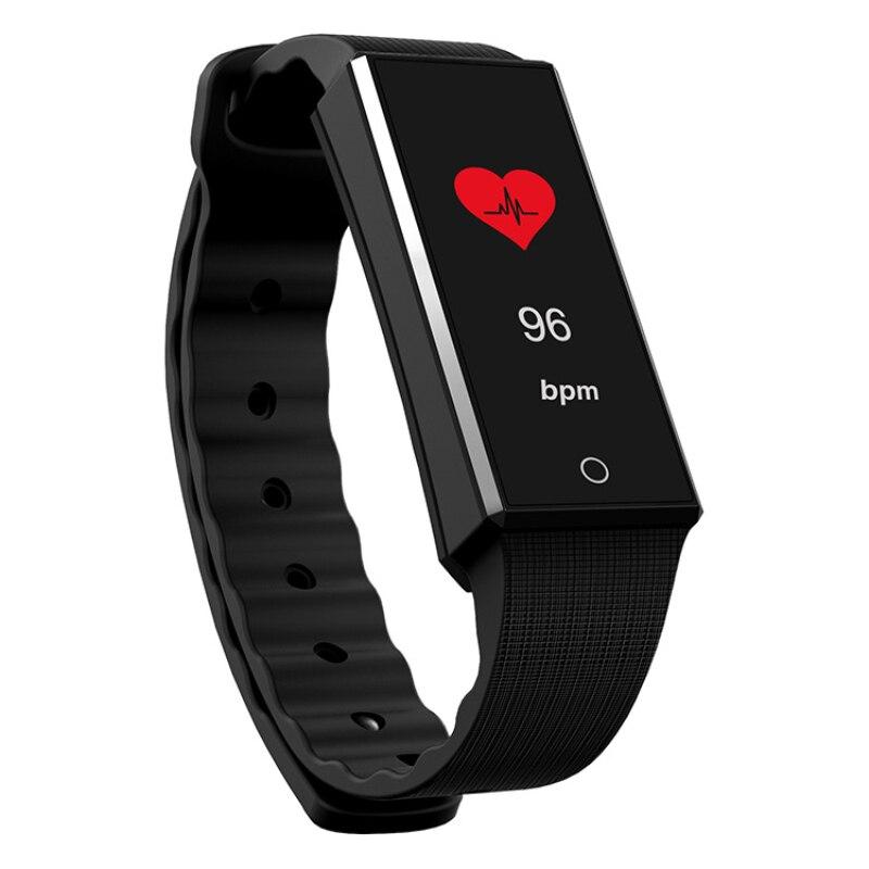 Новый Smart Браслет Фитнес трекер сердечного ритма Цвет ЖК-дисплей Sport Band <font><b>IP67</b></font> Водонепроницаемый смарт-браслет для Android IOS Телефон SmartBand P2