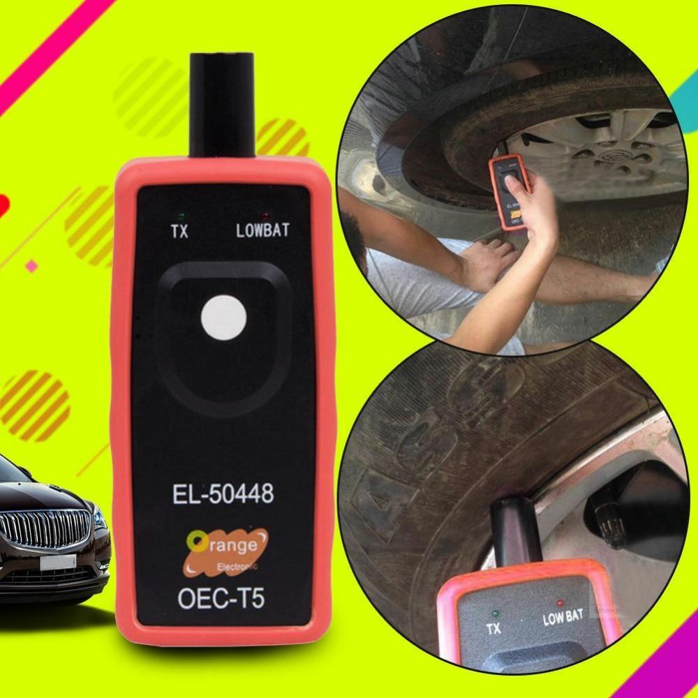 Newest G M Tire Pressure Tool Reset Car EL 50448 Auto Tire Pressure Monitor Sensor font