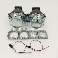 2pcs HID Bi Xenon Projector Lens LHD For 3 0 Koito Q5 35W Car Headlight Can