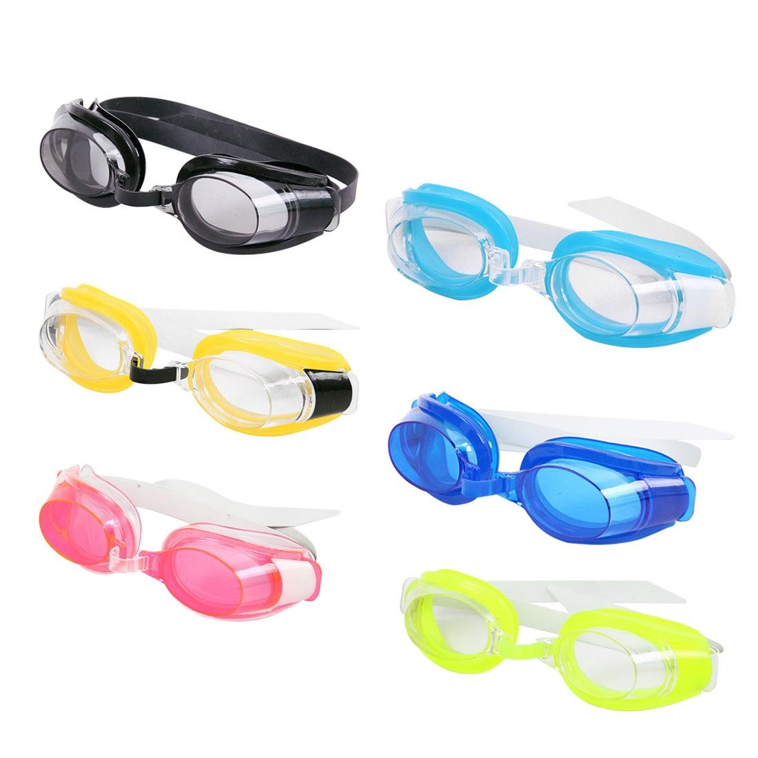 kids glasses Waterproof Anti fog Swimming Glasses Outdoor Sports Swimming Pool Eyewear & Ear Plugs Nose Clip Random Color