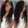 Peruvian Virgin Hair Deep Curly With Closure 8a Wet And Wavy Virgin Peruvian Hair With Closure 3 Bundles Deep Wave Closure