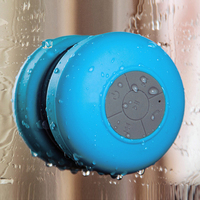 Mini Wireless Bluetooth Speaker Portable Waterproof Shower Speakers For Phone MP3 Bluetooth Receiver Hand Free Car