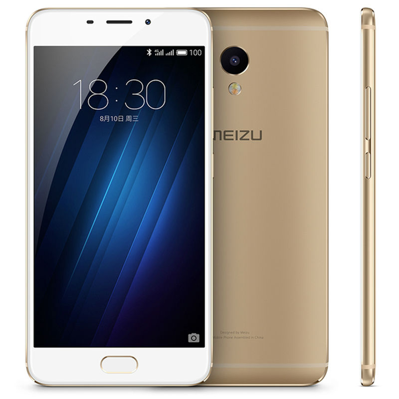 Original Meizu M3E MEILAN M3 E 5.5 inch 2.5D FHD 1080P MTK Helio P10 Octa Core 3GB RAM Cell Phone 13.0MP Camera Fingerprint
