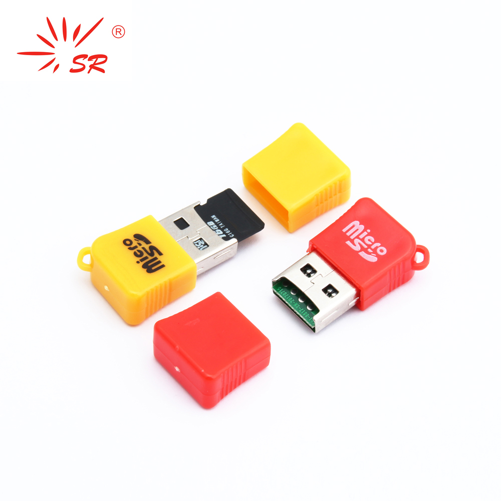 SR Sugar Style TF Micro SD Card Reader USB 2.0 Flash Lector Memory OTG Adapter Drive For Laptop Accessories PC