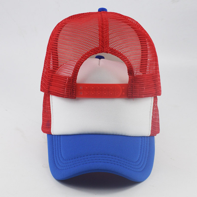 e75751e974445 2018 Cosplay caps Coser baseball Cap Hat Cosplay caps new Dustin Stranger  Things Dustin Summer Snapback unisex Mesh Net hats