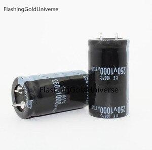 Image 1 - 250V 1000UF 1000UF 250V קבל אלקטרוליטי נפח 25x50MM הטוב ביותר באיכות
