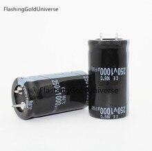 250V 1000UF 1000UF 250V volume di Condensatore Elettrolitico 25x50 MILLIMETRI di trasporto migliore qualità