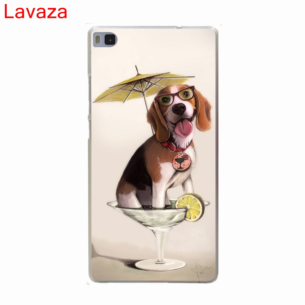 Lavaza Tattooed Bullterrier Cute dog Biaoqing Hard Case for Huawei P10 P9 P8 Lite P10 P9 Plus P6 P7 G7 & Honor 6 7 8 Lite 4C 4X