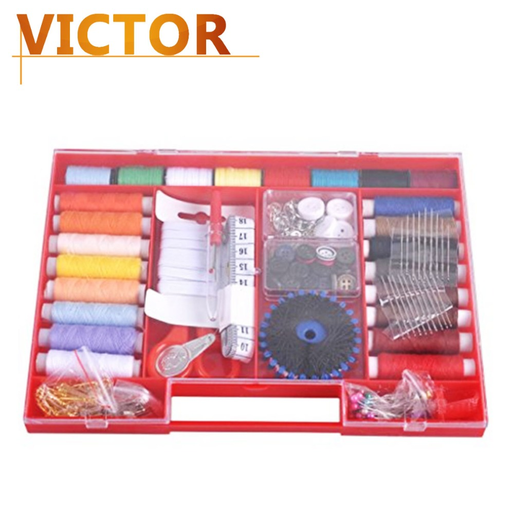 316pcs Portable sewing kits travel Sewing tool Sets Storage box for embroidery gifts needle thread Mending Accessories  #LT146