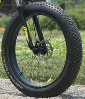 4.0 / 4.8 Size Fat Tire 26 Inches Wheel, Front Wheel and Rear Wheel,with Inner & Outer Tires, without Front Fork