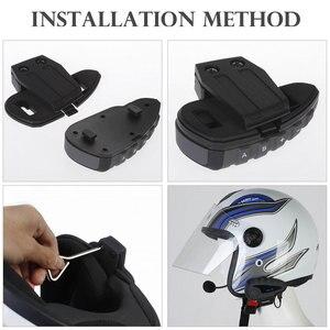 Image 5 - 2019 Original EJEAS Walkie Talkie Bike Bluetooth Headset Unterstützung Hohe ende NFC Passenden Hörer Mit Motorrad Fern Griff