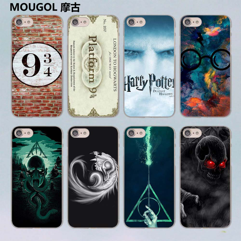 100% authentic 3a191 9e312 US $2.29 23% OFF|MOUGOL harry potter howgwarts always slytherin design  transparent clear hard case cover for Apple iPhone 7 7Plus 6S 6 Plus 5 5s  -in ...