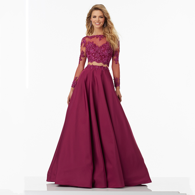 Plus Size Two Piece Formal Dresses