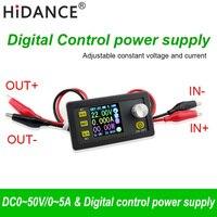50V 5A 250W LCD converter Adjustable Voltage meter Regulator Programmable Power Supply Module Voltmeter Ammeter Current tester